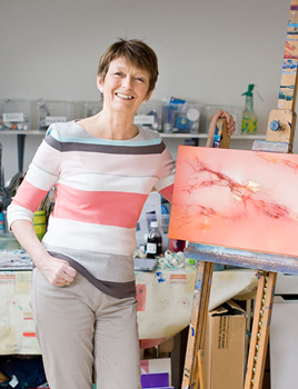Photo of artist Helen Blair